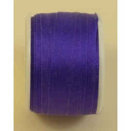 Silk ribbon 7 mm violet