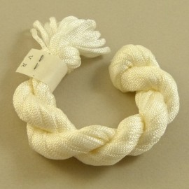 Viscose ribbon 4 mm natural