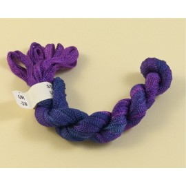 Viscose ribbon 4 mm purple color-changing
