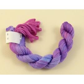 Viscose ribbon 4 mm from parka to pink