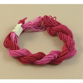 viscose gimp fuchsia color-changing
