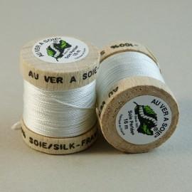 Perlé silk white Au ver à Soie